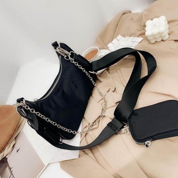top popular 2020 brand designer bag ladies fashion messenger bag hot sale shoulder bag today classic nylon wallet trendy handbag 2021
