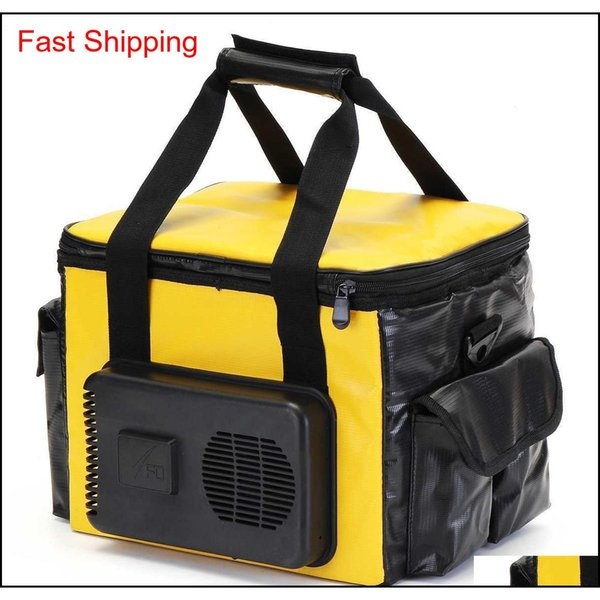best selling 12v 20l Portable Electric Cooler heated Lunch Box Car Bento Boxes Food Warmer Storage Bag Container For Travel qylUqr bdetoys
