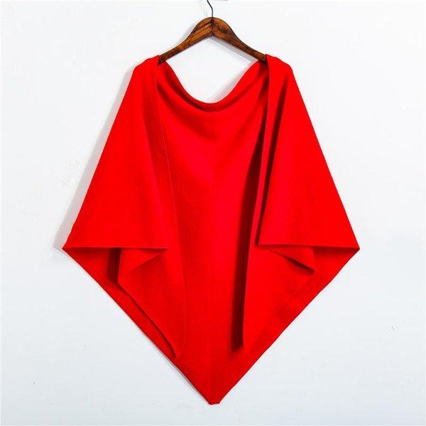 5 Triangolo Rosso Brillante lungo 180 largo 126