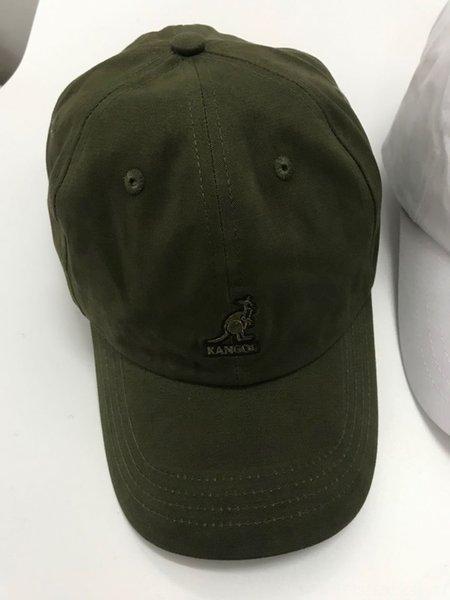 Canguro algodón béisbol ejército verde