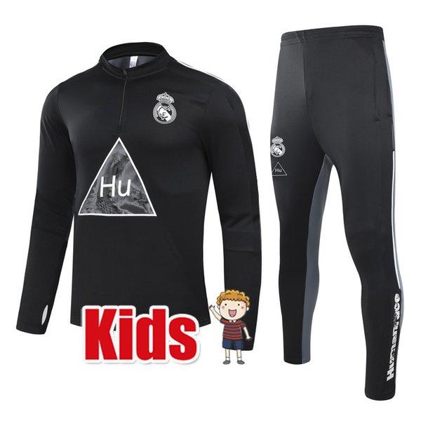 Niños 2021 Real Madrid Hu Black