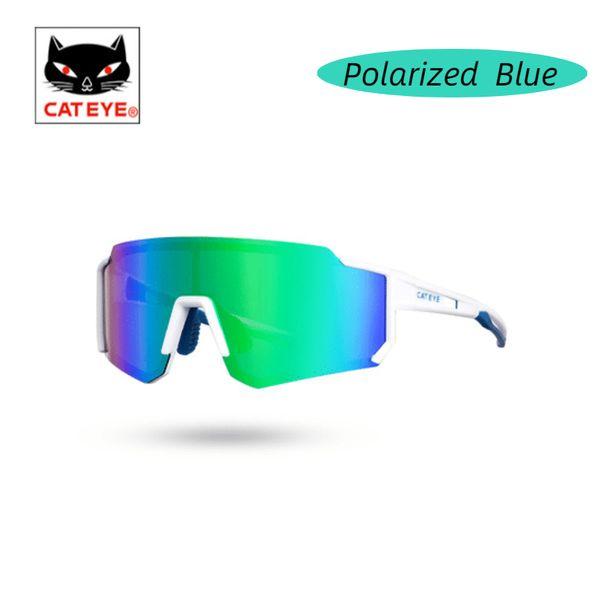Polarisiertes blau.