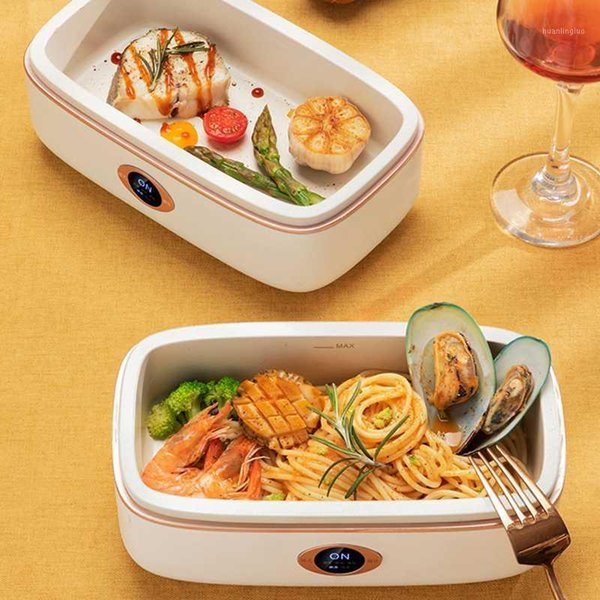 best selling 220V Electric Lunch Box Intelligent Rice Cooker Three-dimensional Heating Portable Multi+cooker Heat Preservation Cooker 800ml1