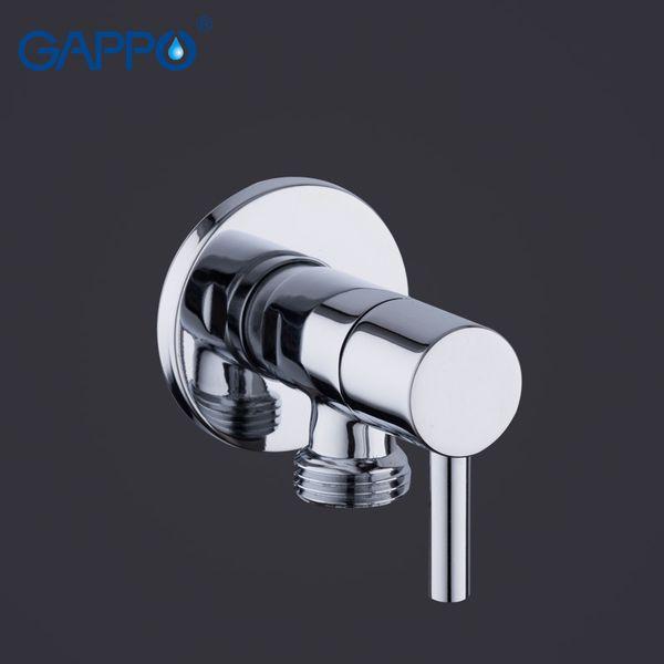 top popular GAPPO Bidets handheld shower brass toilet shower mixer bidet toilet spray Bidet washer mixer tap muslim shower C0127 2021