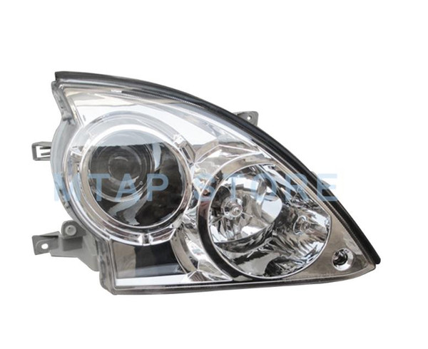 top popular MTAP Left Right Front Bumper Headlight Head Light Sub-Assy For Terracan 2001-2006 Front Headlamp Head Lamp Halogen Type 2021