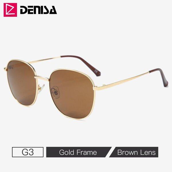 G3 Braune Sonnenbrillen