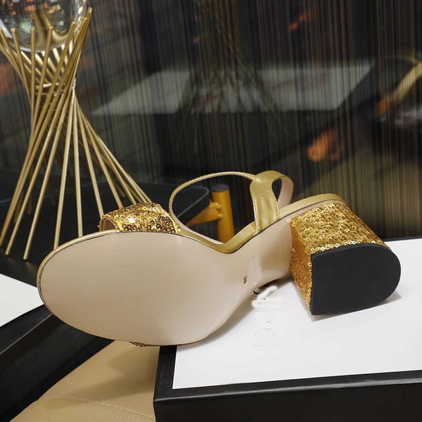 Gold 8cm talon