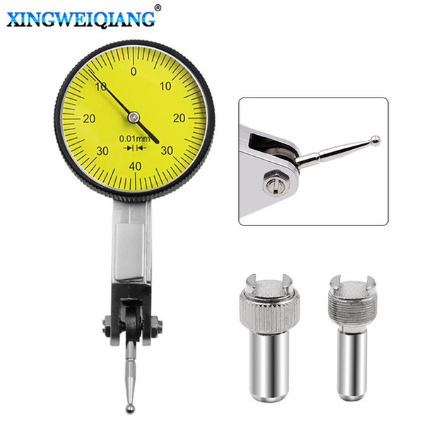 top popular easuring & Gauging Tools Dial Indicators Accurate Dial Gauge Test Indicator Precision Metric with Dovetail Rails Mount 0-4 0.01mm Mea... 2021