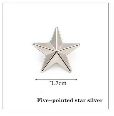 Cinco de plata estrella señalada