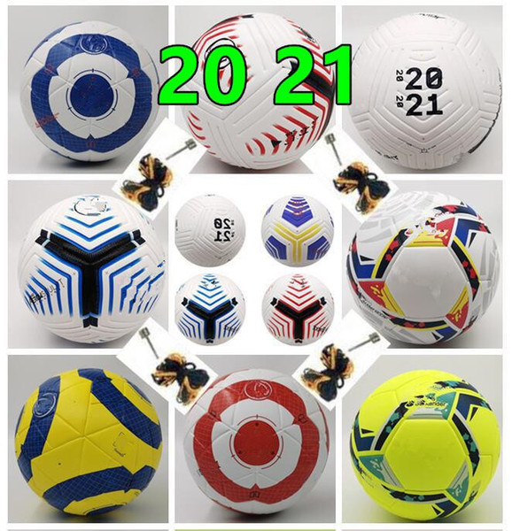 best selling Best PU 5 ball Soccer ball 2020 21 Final KYIV size 5 balls granules slip-resistant football (Ship the balls without air)