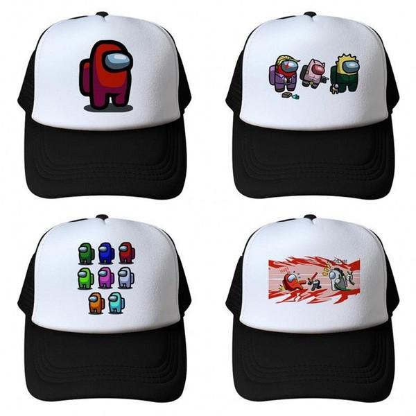 best selling US Stock Among us Summer Caps Baseball Cap For Men Baseball Cap Hats Women Men kids child 16styles