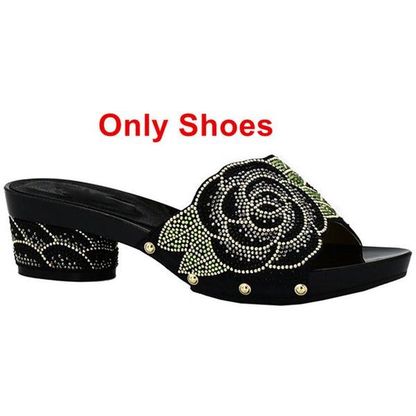 Solo zapatos negros
