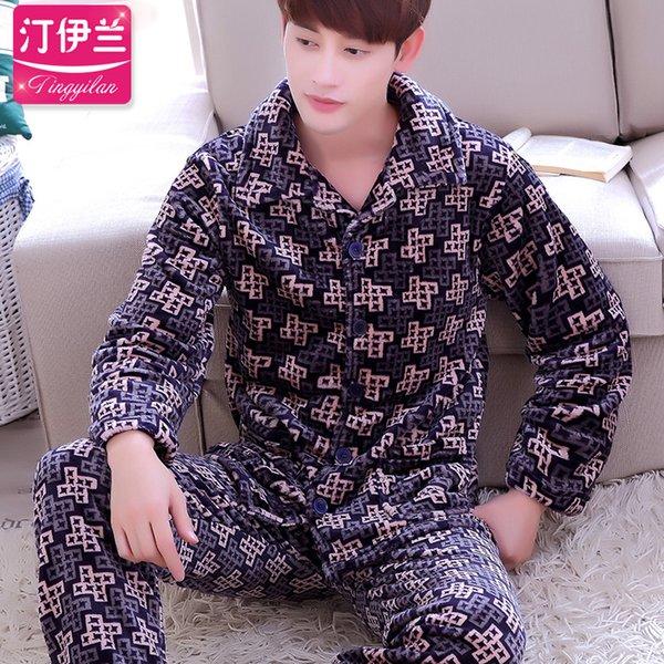 Hombres a cuadros pijama