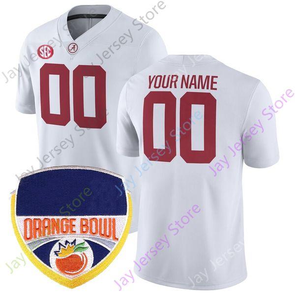 Белый оранжевый патч