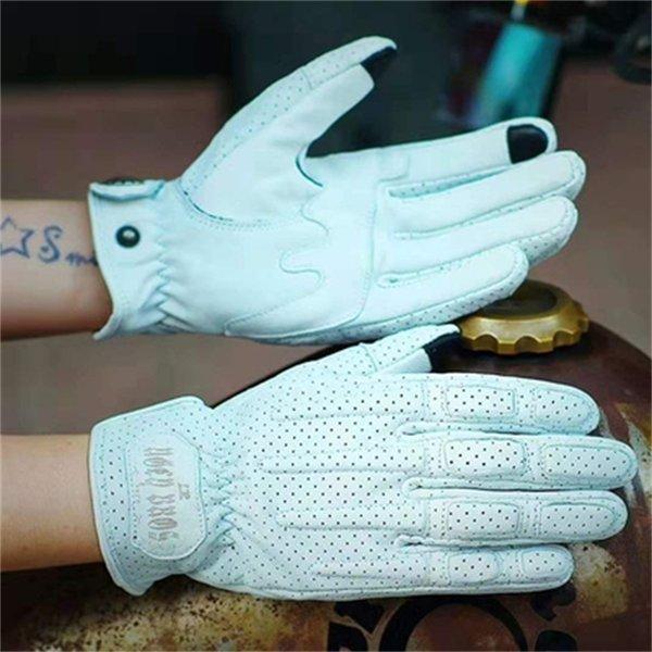 Guantes blancos 551 (sin peluche) -s