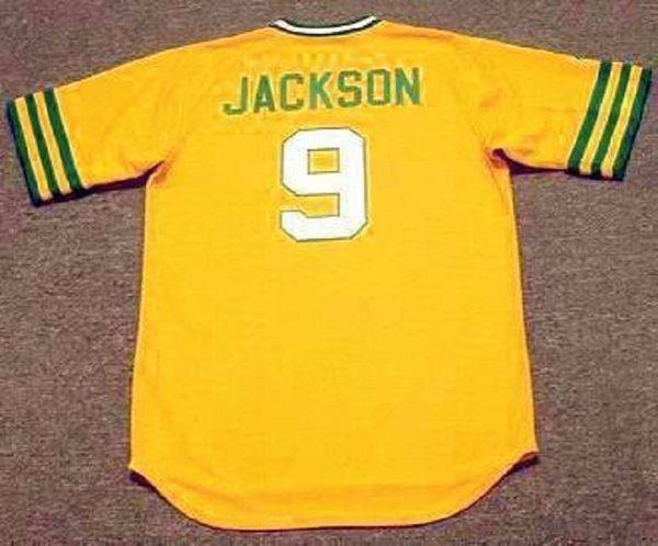 9 reggie jackson 1973 amarelo