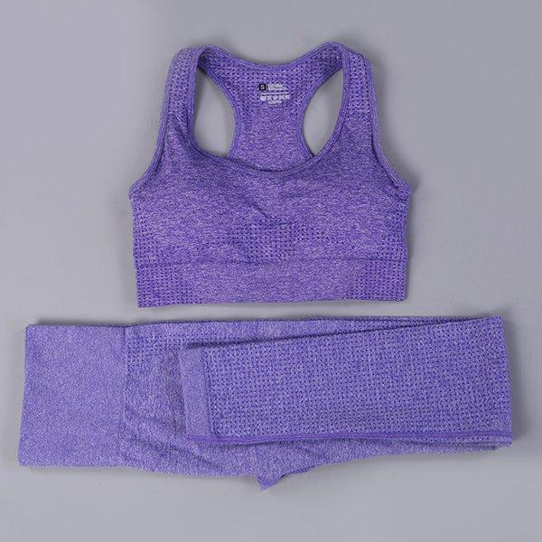 ensemble de 2pcs violet