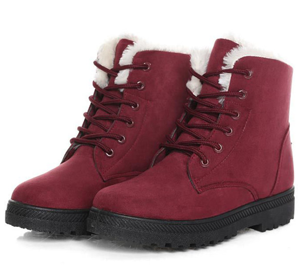 top popular s Winter Ankle Boots For Women Winter Shoes Female Snow Boots Botas Mujer Warm 2021