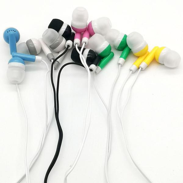 top popular Bulk Earbuds Headphones Wholesale Earphones Disposable Ear Buds Headphones for School Classroom, Libraries, Hospitals,Theatre Museu 2021