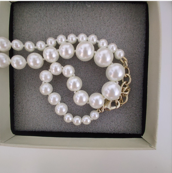 best selling New Products Chain Necklace New Product Elegant Pearl Necklace Wild Fashion Woman Necklace Exquisite Jewelry Supply