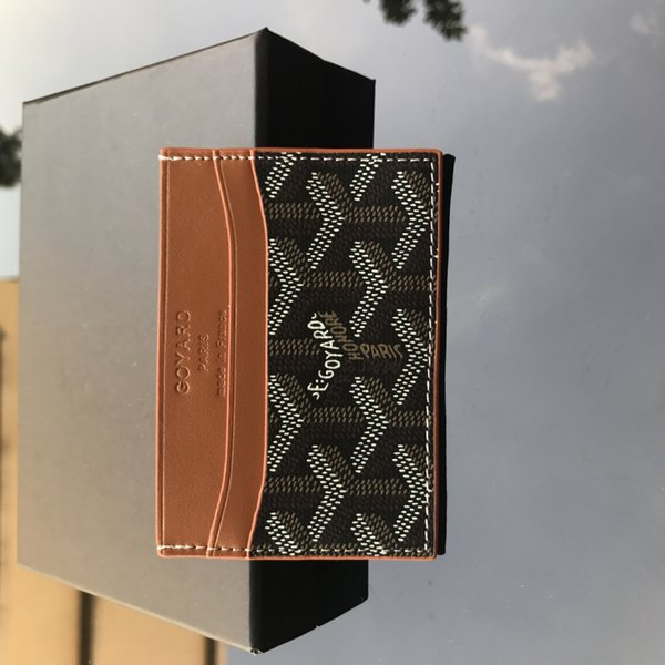 Black with Khaki - Card Case