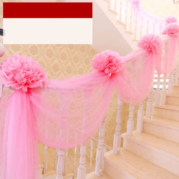 Flor de papel rosa