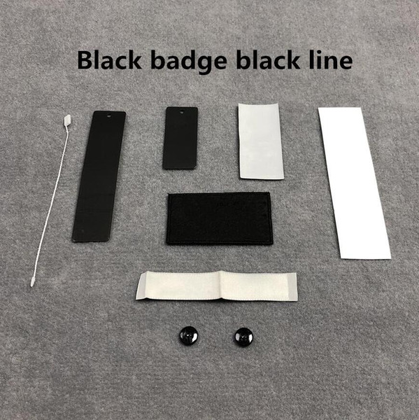 Black Badge Black Line