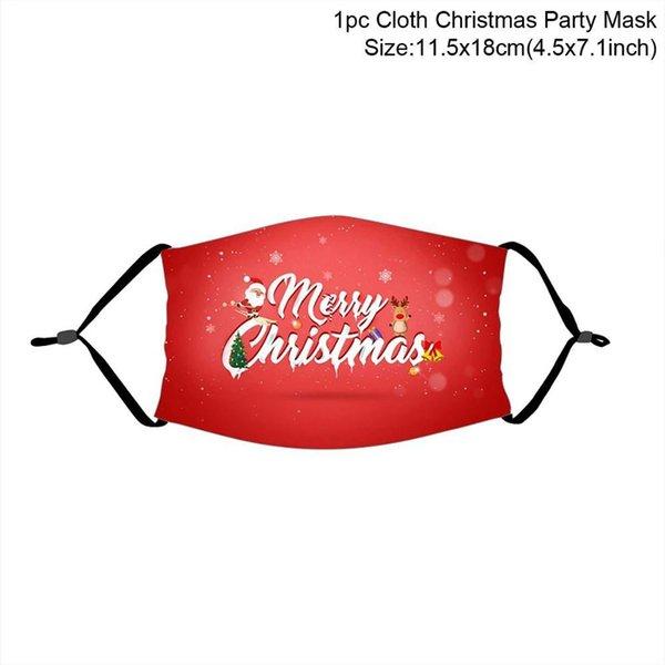 máscara de Natal 21