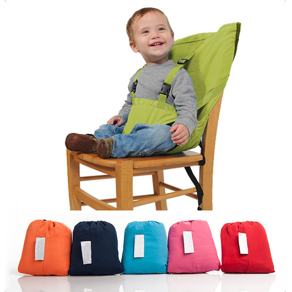 top popular New Baby Chair Portable Infant Seat Product Dining Lunch Chair Seat Safety Belt Feeding High Chair Harness Baby chair seat LJ201110 2021