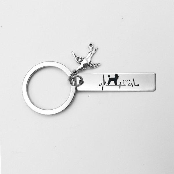 Style 4-Schlüsselring