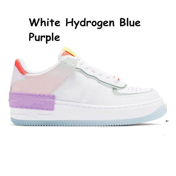 26 36-40 Weißes Wasserstoffblau-Lila