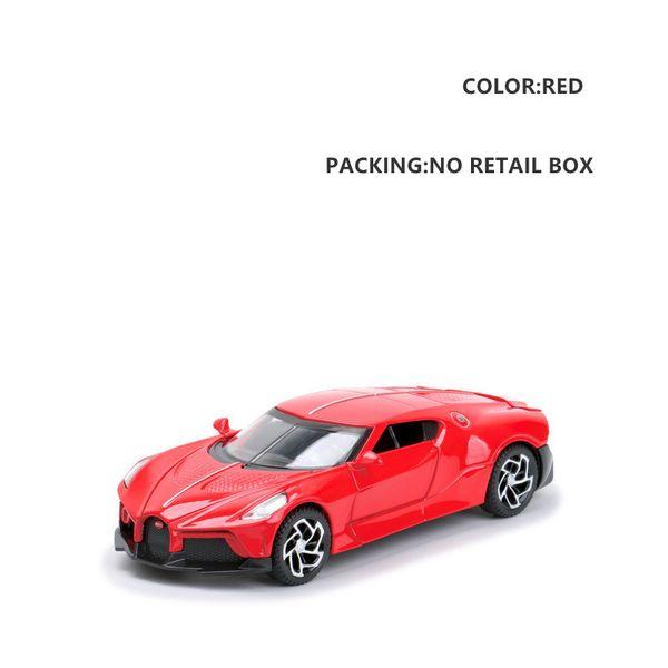 Red No Box