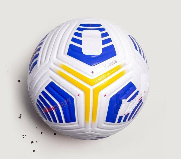 top popular 20 21 Best quality Club Serie A League match Soccer ball 2021 size 5 balls granules slip-resistant football Free shipping high quality bal 2021