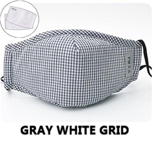 Grau, Weiß, Gitter