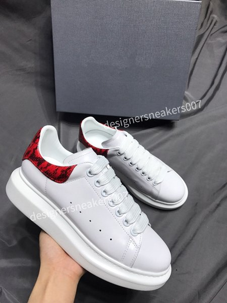 2021Mans sneakers leather shoes leather shoes increase Men And Women size gp190701
