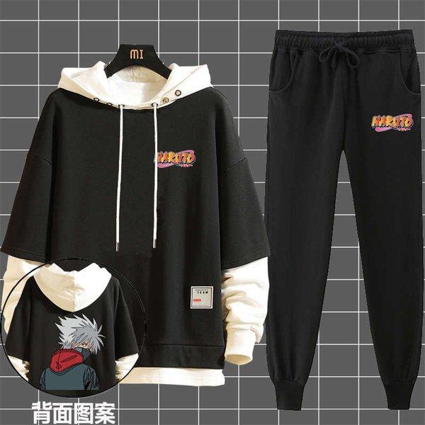 Kakashi negro + negro delgado
