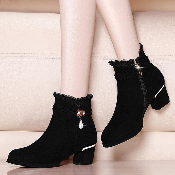 Black Bootle Boots