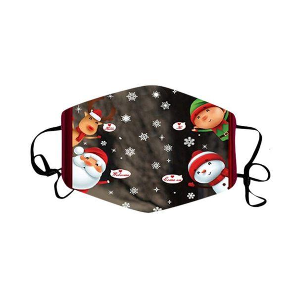 Weihnachtsmaske 01.