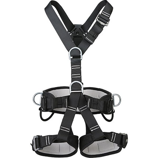 best selling Safety Harness Full Body Fall Protection Construction Harness, Back Side D-Rings, Polyester Protective Harness for Rock Climbing Q1118