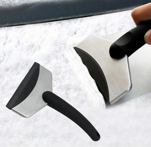 top popular Durable Snow Ice Scraper Car Windshield Auto Ice Remove Clean Tool Window Cleaning Tool Winter Car Wash Accessories Snow Remover DDD3484 2021