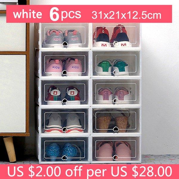 31x21x12.5cm White6p