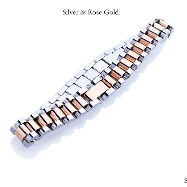 Silver & Rose Gold