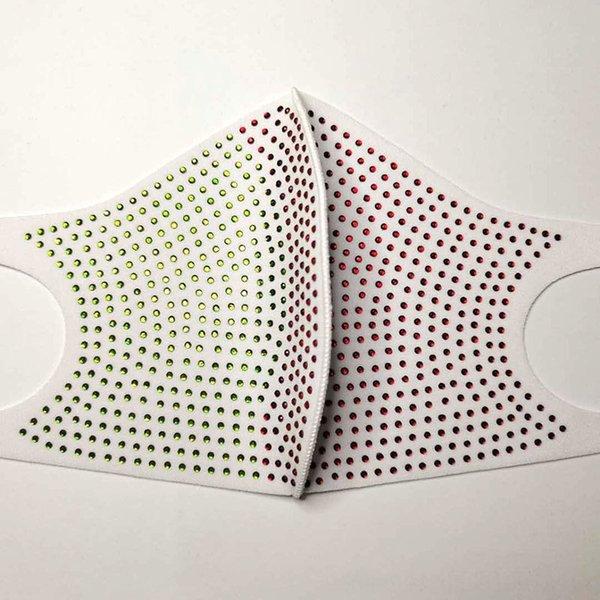 2073 blanco rojo verde-un tamaño # 51305