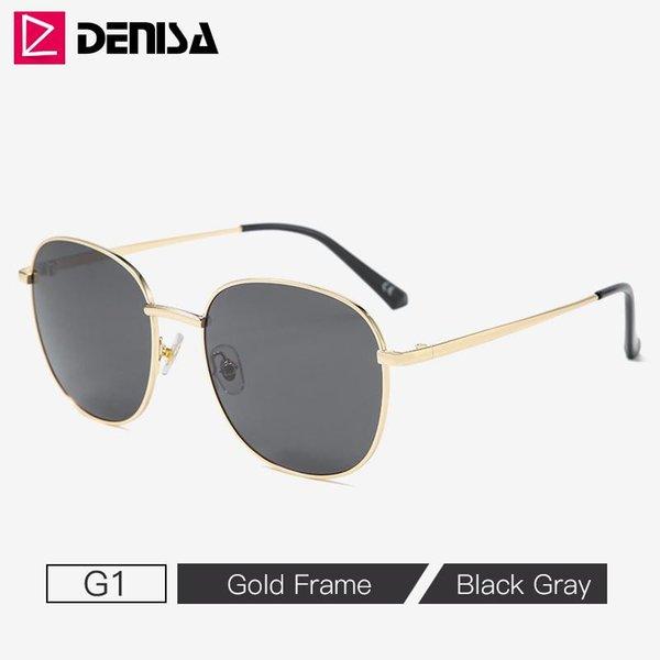 G1 schwarze Sonnenbrille