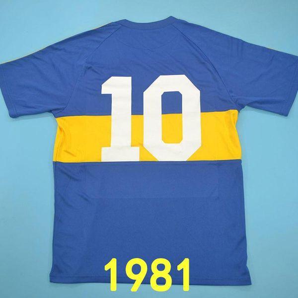 Boca Juniors 1981 Home 10 #