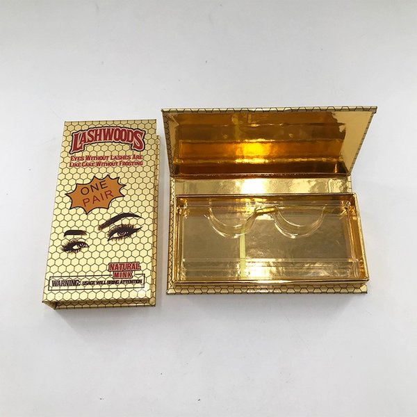 Caja de oro vacío 1