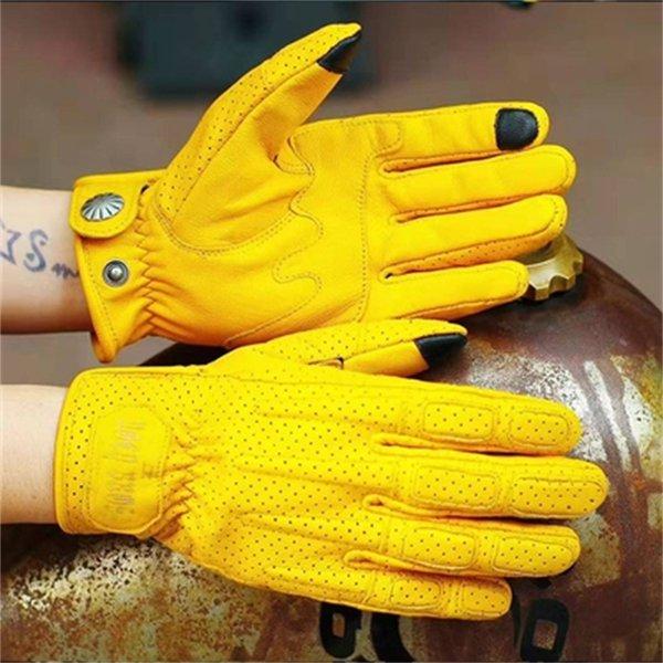 Guantes amarillos 551 (sin peluche) -s