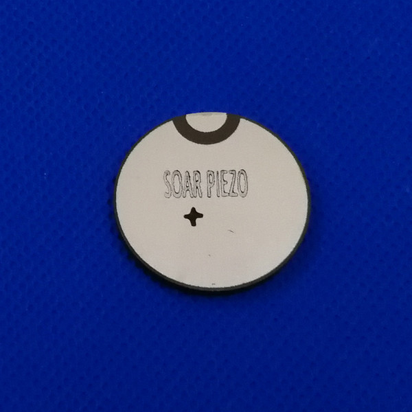 best selling Ultrasonic Piezo Ceramic Disc 28mmx2.07mm-PZT4 1MHz Piezo Electric Disk PZT Beauty Crystals Chips Sensor PZT Transmitter Chips