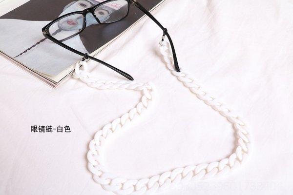 Corrente de óculos - branco