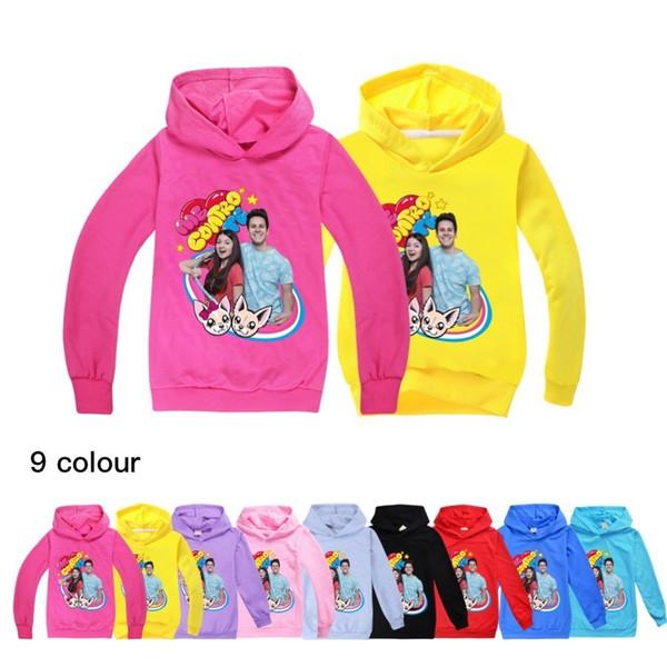 top popular Kids Hoodies Fashion boys Cotton Me Contro Te Baby Girl Thin Sweatshirt Cute Long Sleeves Children 2020 Autumn Boys Sweatshirts LJ200821 2021